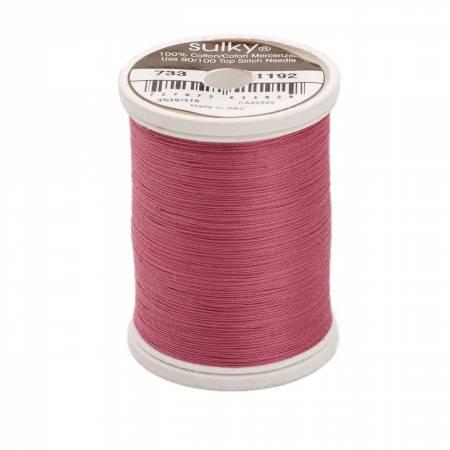 Sulky Cotton Solids 30wt - #1192 Fuschsia