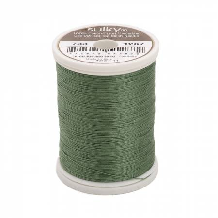 Cotton Thread 30wt 400d 500yds French Green