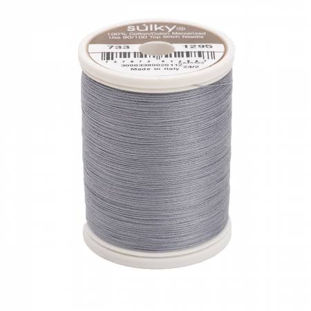 Cotton Thread 30wt 400d 500yds Sterling