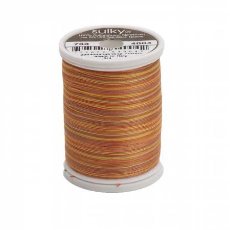 4004 Blendables Cotton Thread 2-ply 30wt 400d 500yds Golden Flame