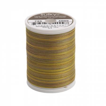 Blendables Cotton Thread 2-ply 30wt 400d 500yds Foliage, 4009