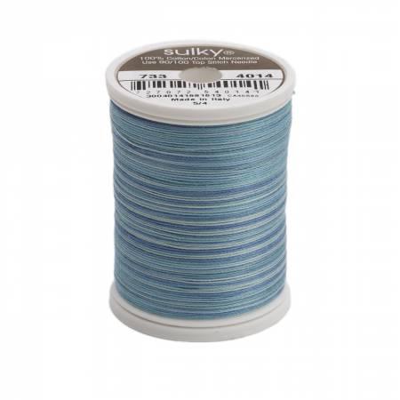 Blendables Cotton Thread 2-ply 30wt 400d 500yds Ocean Blue