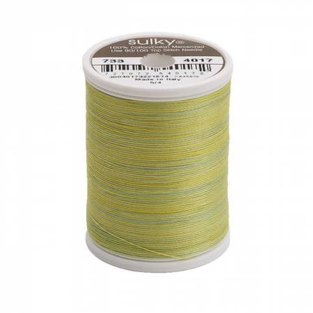 Blendables Cotton Thread 2-ply 30wt 400d 500yds Lime Sherbet