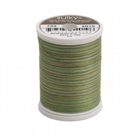 Blendables Cotton Thread 2-ply 30wt 400d 500yds Forest Floor, 4019