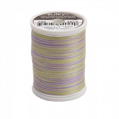 Blendables Cotton Thread 2-ply 30wt 400d 500yds Heather, 4024