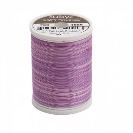 Blendables Cotton Thread 2-ply 30wt 400d 500yds Hydrangea, 4025
