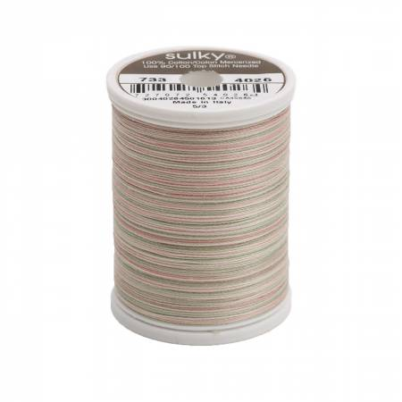 Blendables Cotton Thread 2-ply 30wt 400d 500yds Earth Pastels