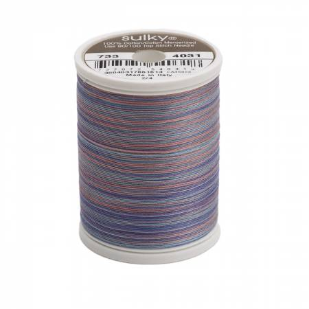 Sulky Blendables Cotton Thread 2-ply 30wt 400d 500yds Country Colonial 733-4031