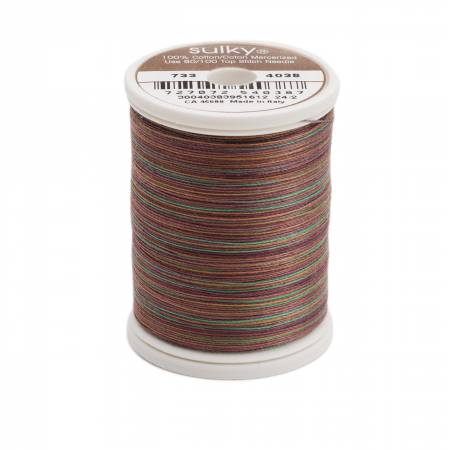Blendables Cotton Thread 2-ply 30wt 400d 500yds Deep Woods