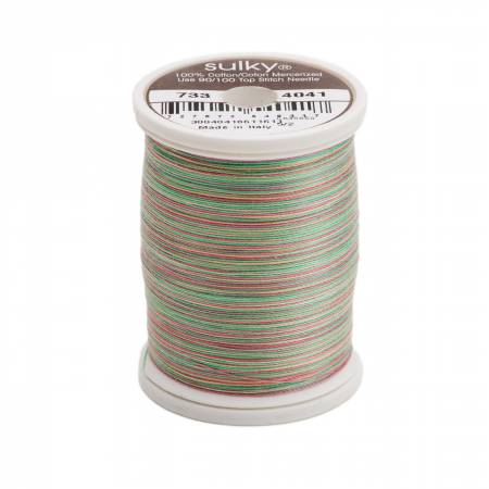 Blendables Cotton Thread 2-ply 30wt 400d 500yds Fiesta