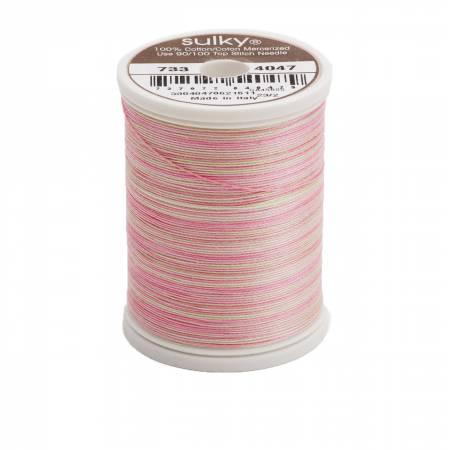 Blendables Cotton Thread 2-ply 30wt 400d 500yds Princess Garden