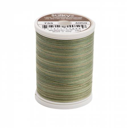 Blendables Cotton Thread 2-ply 30wt 400d 500yds Pine Palette