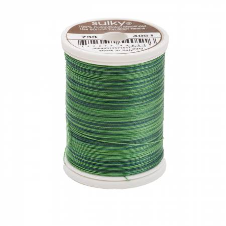 Blendables Cotton Thread 2-ply 30wt 400d 500yds Forever Green