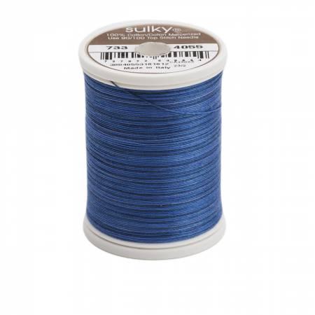 Blendables Cotton Thread 2-ply 30wt 400d 500yds Royal Navy