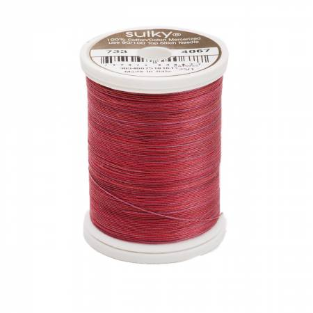 Blendables Cotton Thread 2-ply 30wt 400d 500yds Merlot Blush