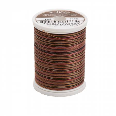 Sulky Cotton Blendables - 30wt. - Dark Chocolate - 500 yd/ 450m