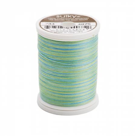 Sulky Blendables Cotton Thread 2-ply 30wt 400d 500yds Celadon 733-4075