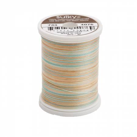 Sulky Blendables Cotton Thread 2-ply 30wt 400d 500yds Breeze 733-4076
