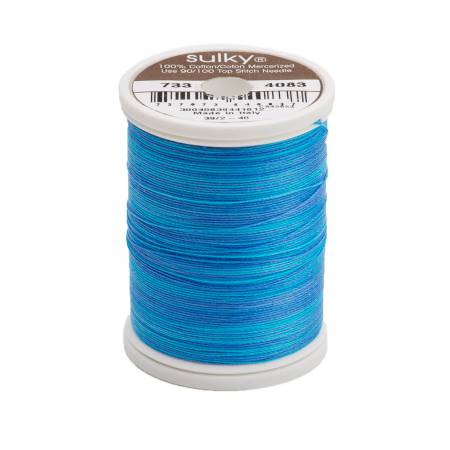 Blendables Cotton Thread 2-ply 30wt 400d 500yds Sapphire