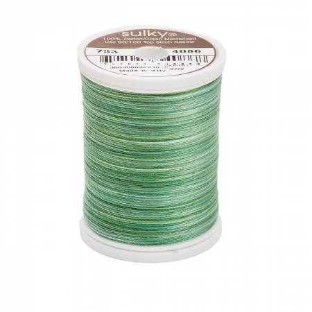 Sulky Blendables Cotton Thread 2-ply 30wt 400d 500yds Cactus 733-4086