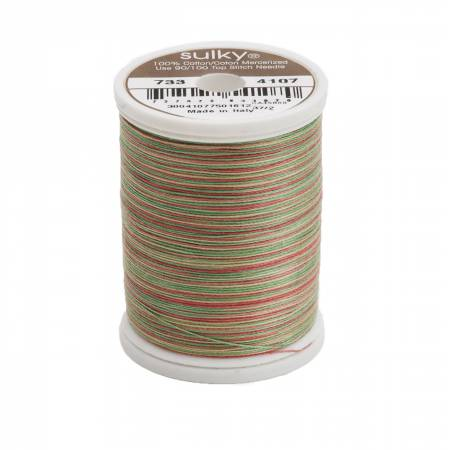 Blendables Cotton Thread 2-ply 30wt 400d 500yds Antique Christmas, 4107