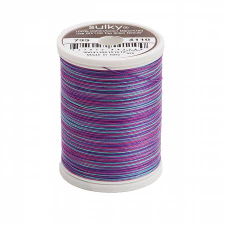 Blendables Cotton Thread 2-ply 30wt 400d 500yds Light Jewels