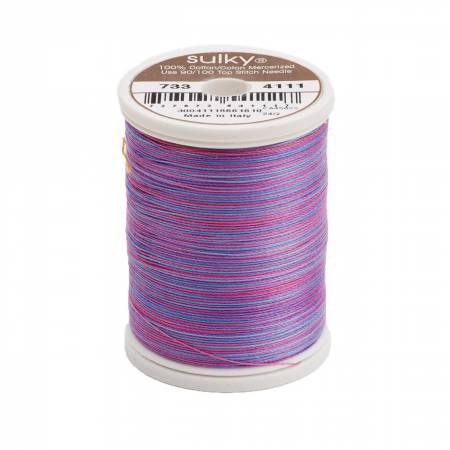 Blendables Cotton Thread 2-ply 30wt 400d 500yds Deep Jewels