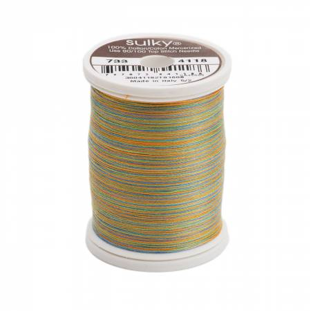 Blendables Cotton Thread 2-ply 30wt 400d 500yds Caribbean