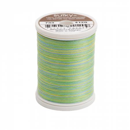 Blendables Cotton Thread 2-ply 30wt 400d 500yds Springtime