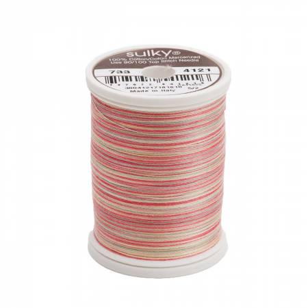 Blendables Cotton Thread 2-ply 30wt 400d 500yds Rhubarb