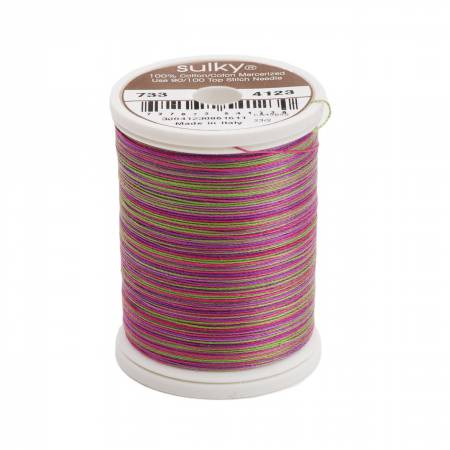 Blendables Cotton Thread 2-ply 30wt 400d 500yds Hot Batik