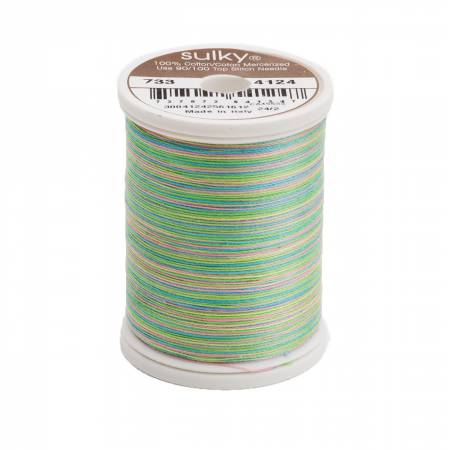 Blendables Cotton Thread 2-ply 30wt 400d 500yds Summertime