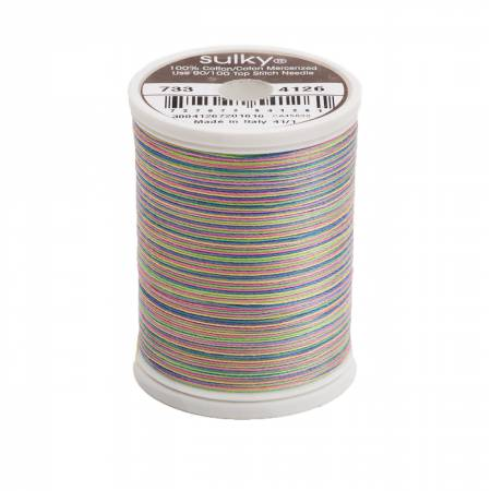 Blendables Cotton Thread 2-ply 30wt 400d 500yds Basic Brights
