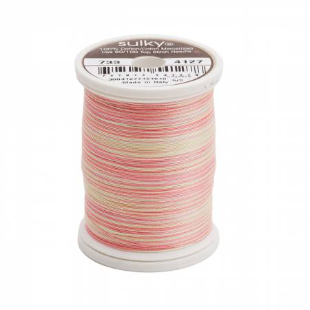 Blendables Cotton Thread 2-ply 30wt 400d 500yds Summer Garden