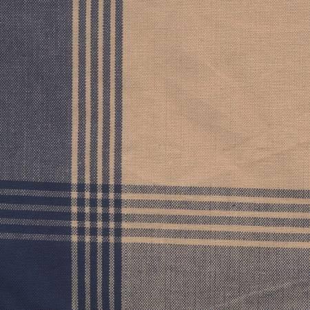 Tea Towel McLeod No Stripe Navy/Teadye