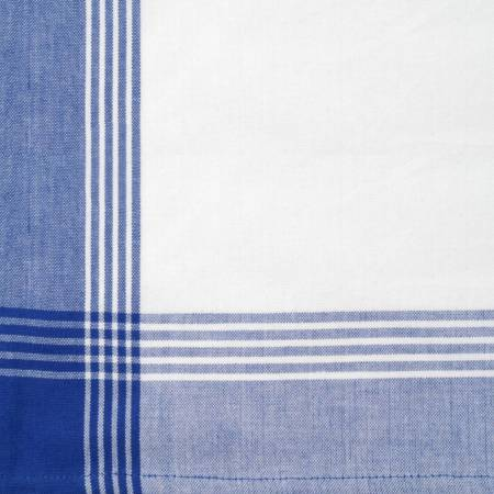 Tea Towel Stripe Blue with White