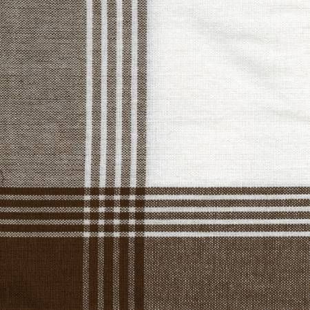 McLeod No Stripe Brown with White