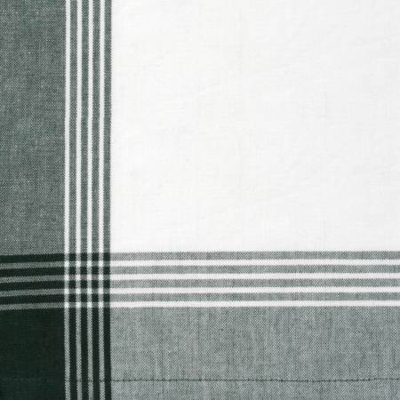 Tea Towel McLeod No Stripe Green withWhite