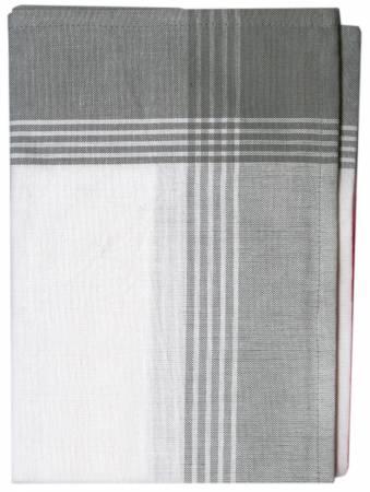 Tea Towel McLeod No Stripe Gray with White