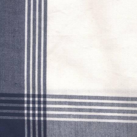 Tea Towel McLeod No Stripe Navy withWhite