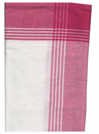 Tea Towel McLeod No Stripe Pink with White