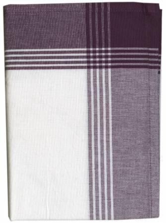 Tea Towel McLeod No Stripe Purple with White