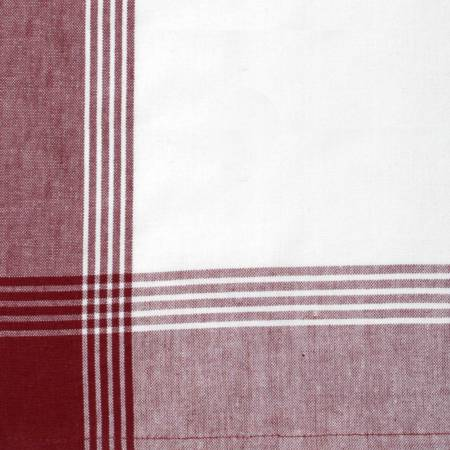 Tea Towel McLeod No Stripe Red withWhite