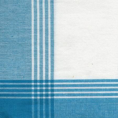 Tea Towel McLeod No Stripe Turquoise with White