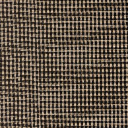 Tea Towel Mini Check Black/Teadye
