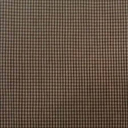 Tea Towel Mini Check Brown/Teadye