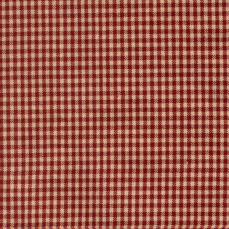 Tea Towel Mini Check Red/Teadye