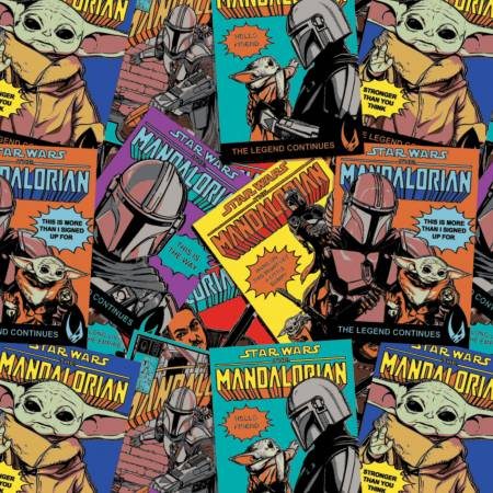 Multi Star Wars Mandalorian Comic Posters