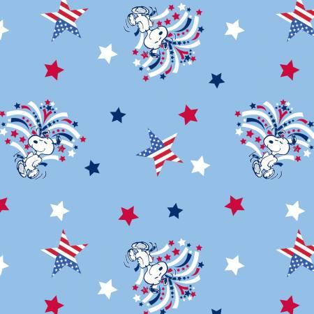 Peanuts Patriotic Snoopy Star Spangled