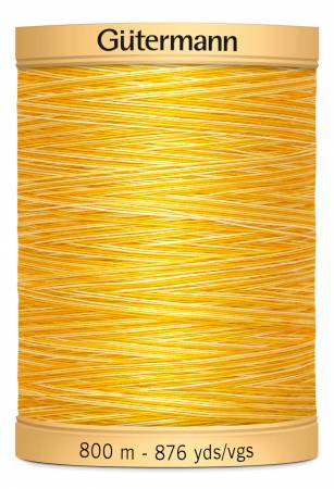 Natural Cotton Thread 800m/875yds Variegated